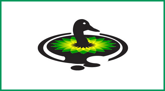 bp logo duck
