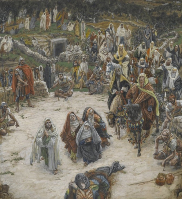 James Tissot - Crucifixion, Seen from the Cross (1890)